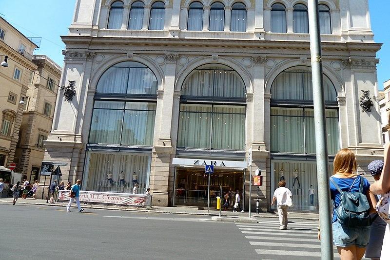 בניין זארה- רומא- מידע חשוב על העיר הכי קסומה באיטליה 2020