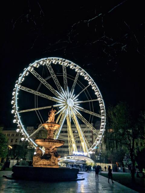 אטרקציות בבודפשט - גלגל ענק בבודפש